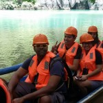on the boat to the underground river-tourradar